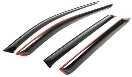 Дефлекторы окон Rival Premium для Skoda Octavia III A7 универсал,4 шт., 35101006