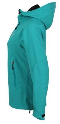 Куртка женская Glory Soft Shell изумрудный меланж 50/176-182