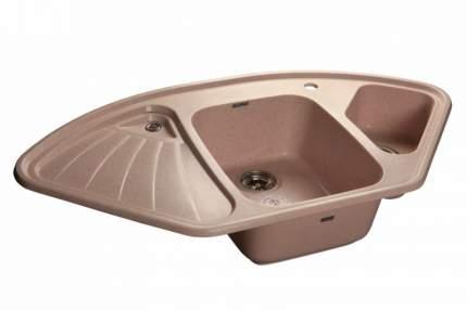 Мойка для кухни керамическая GranFest Corner C-1040 E св-роз