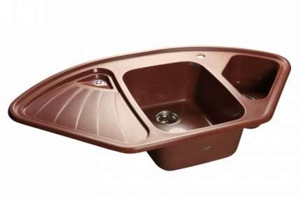 Мойка для кухни керамическая GranFest Corner C-1040 E кр.м