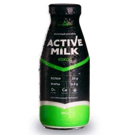 Коктейль Актив милк ультрапастеризованный кокос 0.36% 300 г
