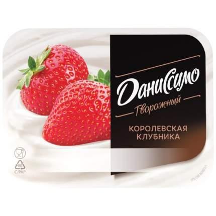 Продукт Даниссимо творожный королевская клубника 5.6% 130 г