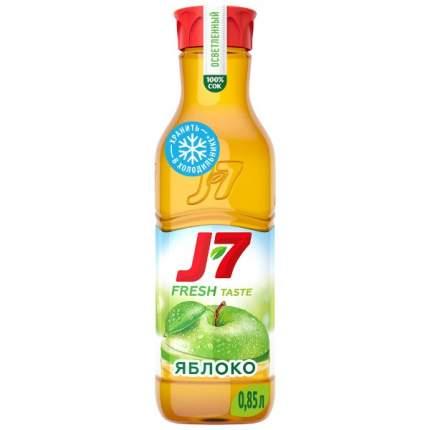 Сок J7 пастеризованный осветленный яблоко 850 мл