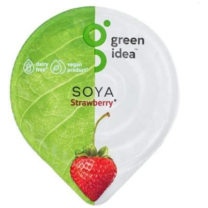 Десерт Green Idea соевый с йогуртовой закваской и соком клубники 140 г
