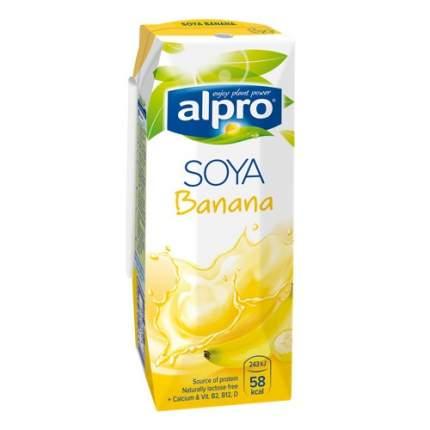 Напиток соевый Alpro с кальцием банановый 1 л