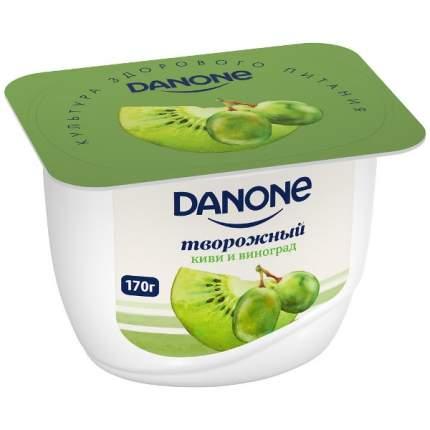 Продукт Данон творожный киви, виноград 3.6% 170 г