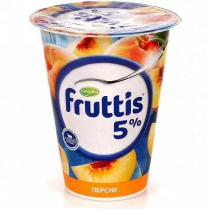 Продукт йогуртный Фруттис Сливочное лакомство персик 5% 290 г