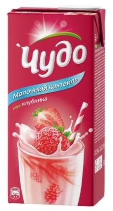 Коктейль Чудо молочное клубника 2% 960 г