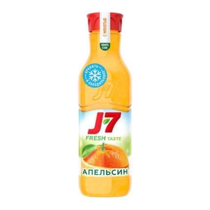 Сок J7 пастеризованный с мякотью апельсина 850 мл