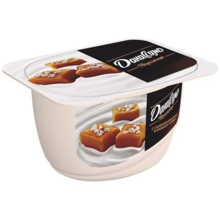Продукт Даниссимо творожный с соленой карамелью и крошкой тоффи 6.9% 130 г