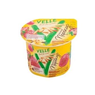Продукт Велле овсяный ферментированный клубника, ваниль 140 г