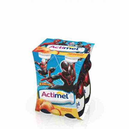 Продукт Актимель обогащенный детский персиковый 2.5% 100 г
