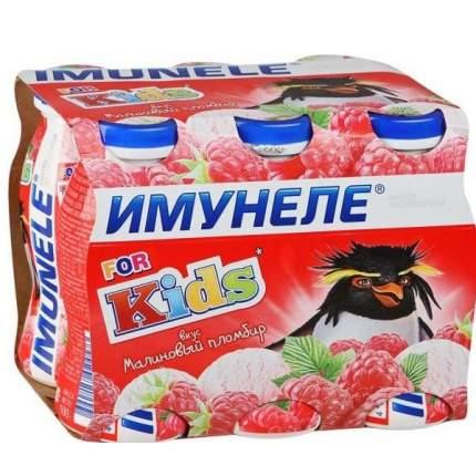 Напиток Имунеле кисломолочный малиновый пломбир 1.5% 100 г