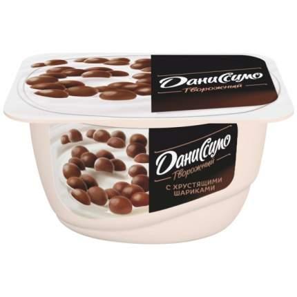 Продукт Даниссимо творожный с хрустящими шариками 7.2% 130 г