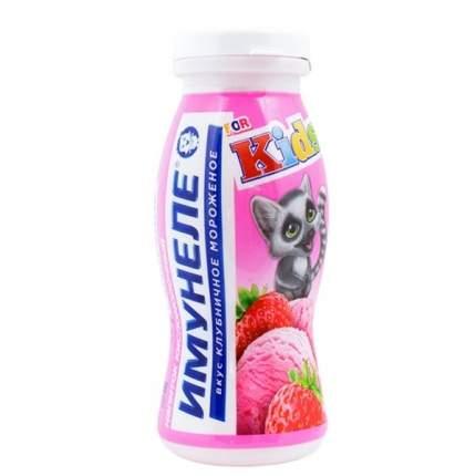Напиток Имунеле кисломолочный клубничное мороженое 1.5% 100 г