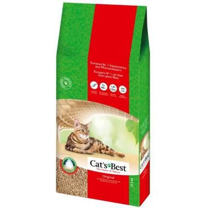 Комкующийся наполнитель для кошек CAT'S BEST Eko Plus древесный, 17.27 кг, 40 л