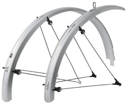 """Комплект велосипедных крыльев SKS Bluemels серебристый 28"""" 53 мм"""