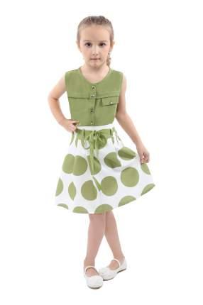 Юбка детская RBC, цв. зеленый, р-р 86