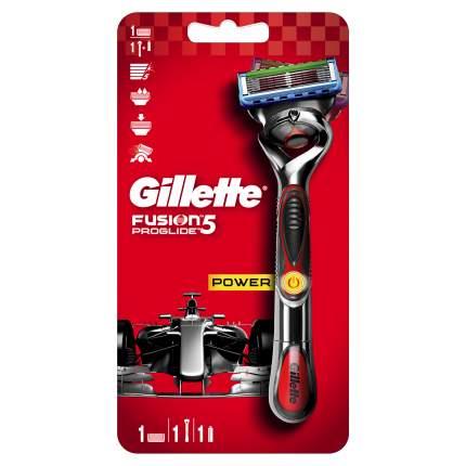 Бритва GIllette Fusion5 Proglide Power с 1 сменной кассетой (с элементом питания)