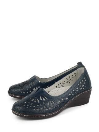 Туфли женские BERTEN BSL 20-885 синие 36 RU