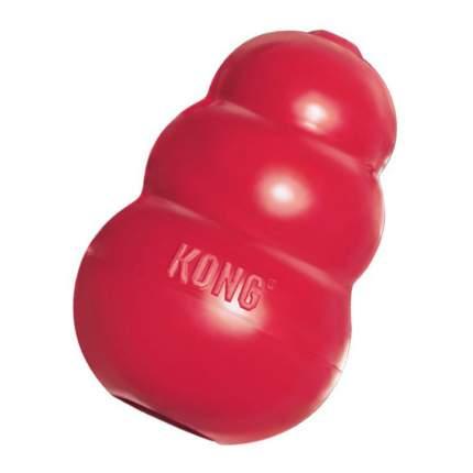 Игрушка для лакомств для собак KONG Classic, красный, длина 10 см
