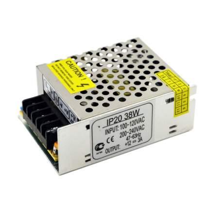 Блок Питания Ecola 38W 220V-12V Ip20 80Х60Х33 B2L038Esb