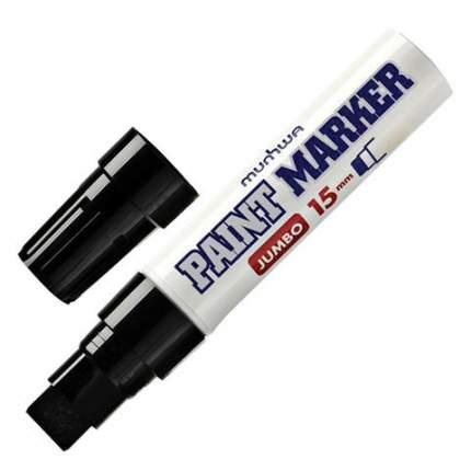 """Маркер-краска """"Jumbo"""", 15 мм, нитро-основа, черная"""