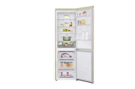 Холодильник LG GA-B 459 MESL Beige