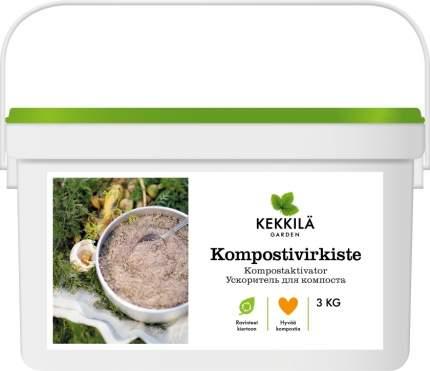 Ускоритель компостирования для компостеров (Kekkila), 3кг