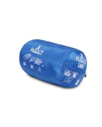 Спальный мешок Halt Lair голубой, левый
