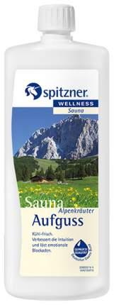 Жидкий концентрат для сауны Spitzner альпийские травы 1000 мл