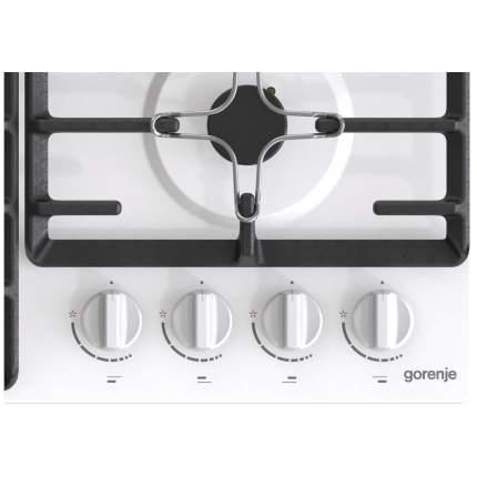 Встраиваемая варочная панель газовая Gorenje GW641W White