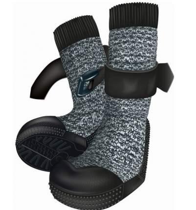 Защитные носки для лап Trixie Walker, S–M, 2 штуки, черный, серый, 2 штуки