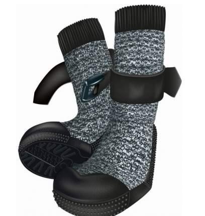 Защитные носки для лап Trixie Walker, XS, 2 штуки, черный, серый, 2 штуки