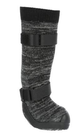 Защитные носки для лап Trixie Walker, M, 2 штуки, черный, серый, 2 штуки