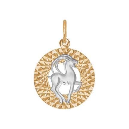 Подвеска «Знак зодиака Козерог» SOKOLOV 031386