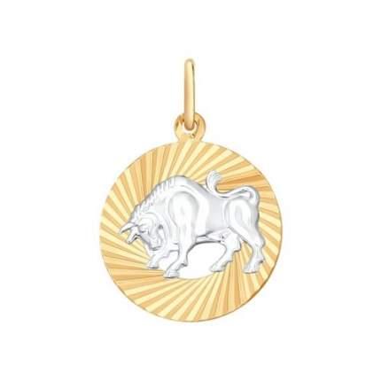 Подвеска «Знак зодиака Телец» SOKOLOV 031366