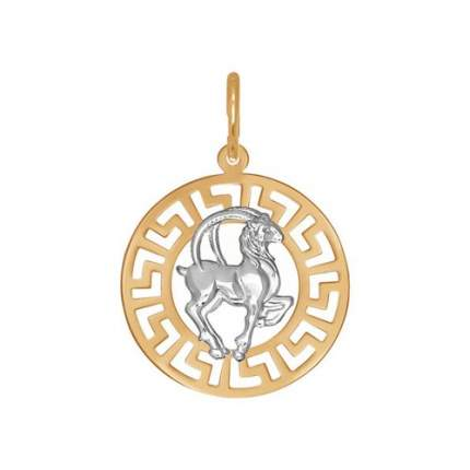 Подвеска «Знак зодиака Козерог» SOKOLOV из золота 031303