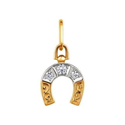 Подвеска SOKOLOV из золота «Подкова» 030405