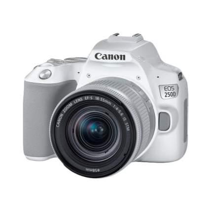 Зеркальный фотоаппарат Canon EOS 250D белый