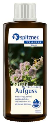 Жидкий концентрат для сауны Spitzner мелисса с мёдом 190 мл