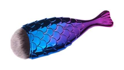 Кисть для макияжа TNL Professional Рыбка Хамелеон S
