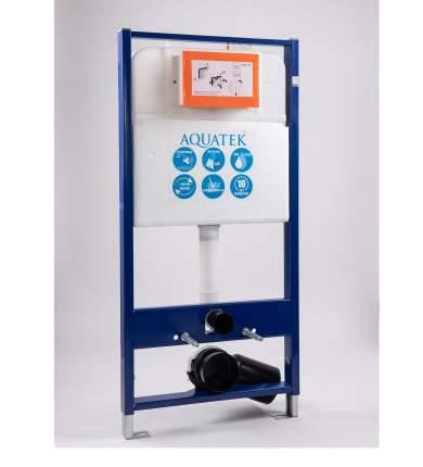 Инсталляция для подвесного унитаза Aquatek INS-0000008 + звукоизоляционная прокладка