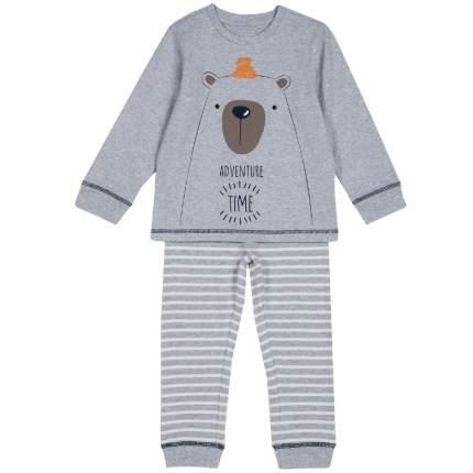 Пижама детская Chicco, цв. серый р.98
