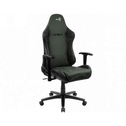 Игровое кресло AeroCool Count AC-KNIGHT-HG, черный/зеленый