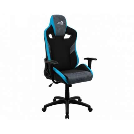Игровое кресло AeroCool Count AC-COUNT-SB, черный/синий