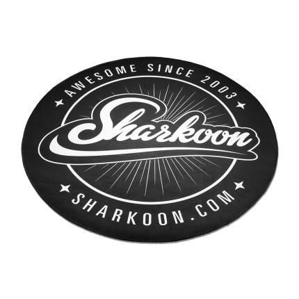 Коврик под компьютерное кресло Sharkoon Floor Mat Black/White