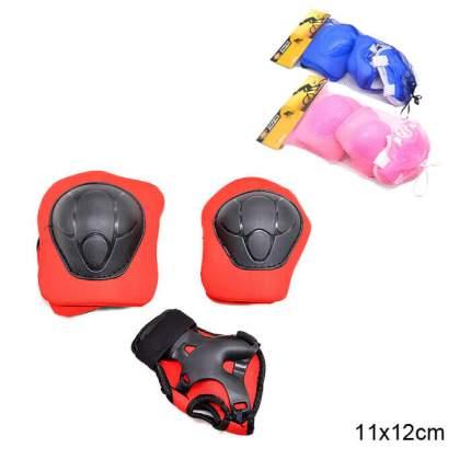 Комплект защиты Sports Helmit Maxi, розовый, S