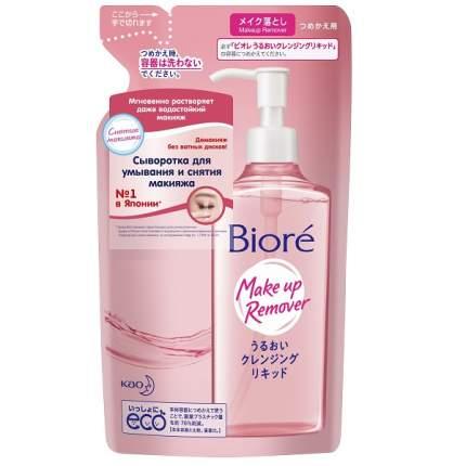 Сыворотка для умывания и снятия макияжа Biore Makeup Remover Serum (запасной блок) 210 мл
