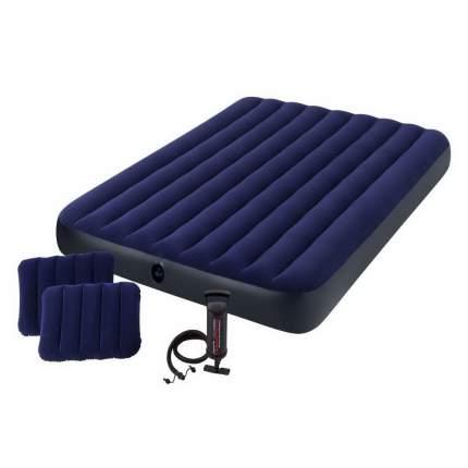 Надувной матрас Intex 64765 Classic Downy Airbed Fiber-Tech 203 х 152 х 25 см